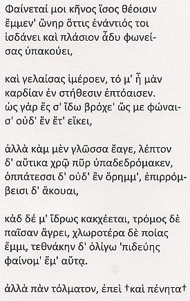 Saffo in bulgnaiṡ
